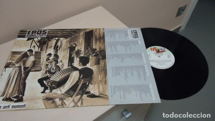 EROS RAMAZZOTTI -IN CERT MOMENTI-1987 FOCO.-MADE IN GERMANY- (Música - Discos - LP Vinilo - Canción Francesa e Italiana)