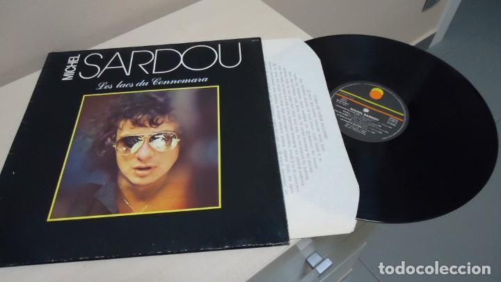 MICHEL SARDOU -LES LACS DU CONNEMARA- DISQUES TREMA RCA- MADE IN FRANCE -1981- (Música - Discos - LP Vinilo - Canción Francesa e Italiana)