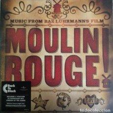 Discos de vinilo: DOBLE LP BSO O SOUNDTRACK - MOULIN ROUGE / VINILO / ED. OFICIAL 2017 / NUEVO. Lote 140419614