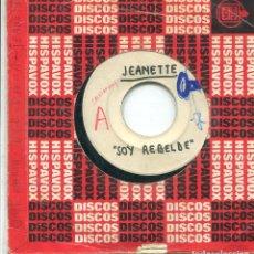 Discos de vinilo: JEANETTE / SOY REBELDE / OYE MAMA, OYE PAPA (TESS PRESING). Lote 140419902