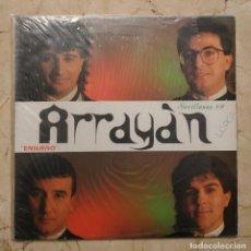 Discos de vinilo: LP ARRAYÁN - ENSUEÑO - SEVILLANAS 89 - FODS RECORDS 1988.. Lote 140420182