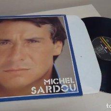Discos de vinilo: MICHEL SARDOU - IL ETAIT LA - DISQUES TREMA RCA - MADE IN FRANCE- 1982-. Lote 140420630