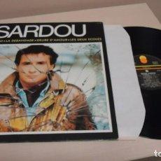 Discos de vinilo: SARDOU -IO DOMENICO - DISQUES TREMA ARIOLA - MADE IN FRANCE- 1985- . Lote 140420786