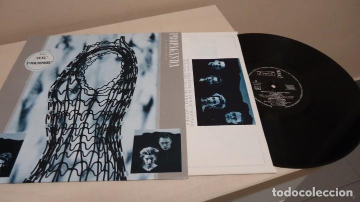 PROPAGANDA -A SECRET WISH-MADE IN FRANCE - 1985-ISLAND PRIMERA EDICION - (Música - Discos - LP Vinilo - Canción Francesa e Italiana)
