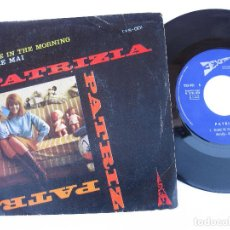 Discos de vinilo: PATRIZIA - 45 SPAIN PS - VINYL: EX * SHAKE IN THE MORNING * REFERENCIA TXS-001 LABEL 3EXITOS. Lote 140425362