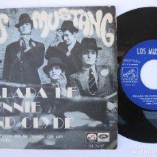 Discos de vinilo: LOS MUSTANG - 45 SPAIN PS - EX * ENAMORADO DE LA NOVIA DE UN AMIGO MÍO * TOP MOD SOUL. Lote 140425538