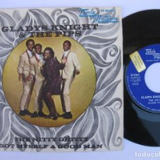 Discos de vinilo: GLADYS KNIGHT & THE PIPS - 45 SPAIN PS - PROMO * EX * THE NITTY GRITTY * TAMLA MOTOWN M-5064. Lote 140426162