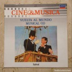 Discos de vinilo: LP VUELTA AL MUNDO MUSICAL II - CINE & MÚSICA Nº 27 - LONDON 1987. Lote 140426350