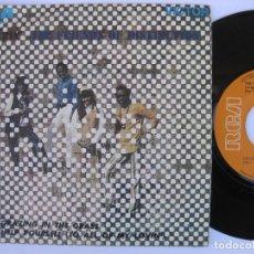 Discos de vinilo: THE FRIENDS OF DISTINCTION - 45 SPAIN PS - EX+ * GRAZING IN THE GRASS . Lote 140426618