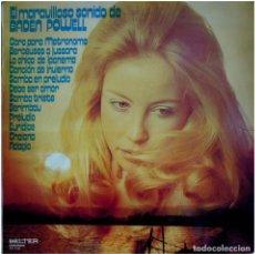 Discos de vinilo: BADEN POWELL – EL MARAVILLOSO SONIDO DE BADEN POWELL - LP SPAIN 1973 - BELTER 22.710 - LAGUENS. Lote 140427326