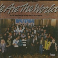 Discos de vinilo: WE ARE THE WORLD USA AFRICA. Lote 140427598