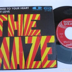 Discos de vinilo: THE MAZE - 45 SPAIN PS - MINT * CHAINED TO YOUR HEART * TOP SOUL. Lote 140431770