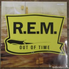 Discos de vinilo: R.E.M. OUT OF TIME. 7599-26496-1 WX 404. WARNER BROSS, 1991, GERMANY. FUNDA VG++, DISCO EX.. Lote 140435510