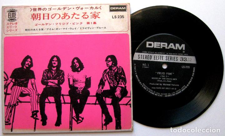 FRIJID PINK - HOUSE OF THE RISING SUN - EP DERAM 1970 JAPAN (EDICIÓN JAPONESA) BPY (Música - Discos de Vinilo - EPs - Pop - Rock Extranjero de los 70)