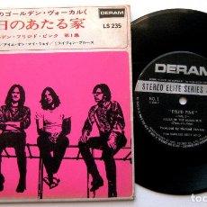 Discos de vinilo: FRIJID PINK - HOUSE OF THE RISING SUN - EP DERAM 1970 JAPAN (EDICIÓN JAPONESA) BPY. Lote 140436950