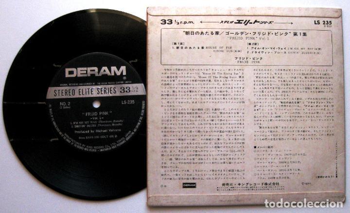 Discos de vinilo: Frijid Pink - House Of The Rising Sun - EP Deram 1970 Japan (Edición Japonesa) BPY - Foto 2 - 140436950
