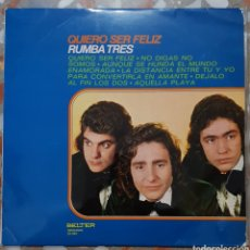 Discos de vinilo: LP RUMBA TRES QUIERO SER FELIZ. Lote 140438053