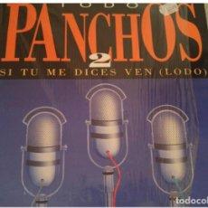Discos de vinilo: TRIO LOS PANCHOS - TODO PANCHOS 2 LP - EPIC 1992. Lote 140440210