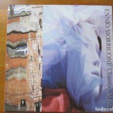 Discos de vinilo: ENNIO MORRICONE - CHAMBER MUSIC - SELLO VIRGIN 1988. Lote 140441682