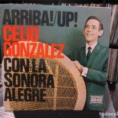 Discos de vinilo: CELIO GONZALEZ CON LA SONORA ALEGRE - ARRIBA ! UP! (LP, ALBUM, MONO) . Lote 140442194