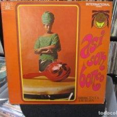 Discos de vinilo: ORQUESTA ARAGON - ASI SON BONCO (LP,) FRANCE. Lote 140442290