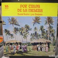 Discos de vinilo: DANIEL SANTOS Y SU CONJUNTO - POR CULPA DE LA MELENA (LP) 1975 USA. Lote 140442378