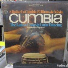 Discos de vinilo: CARMEN RIVERO Y SU CONJUNTO - CUMBIA - A BAILAR LA CUMBIA - EL RITMO DE MODA LP USA . Lote 140442446