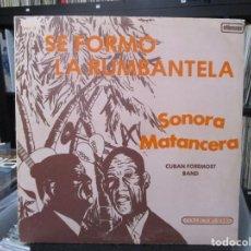 Discos de vinilo: LA SONORA MATANCERA - SONORA VOL. 2 (SE FORMO LA RUMBANTELA) (LP, ALBUM) 1976 VENEZUELA . Lote 140442578