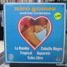 Discos de vinilo: NICO GOMEZ AND HIS ORCHESTRA - WITH LOVE FROM...NICO GOMEZ AND HIS ORCHESTRA (LP) . Lote 140442698