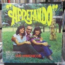 Discos de vinilo: LOS ARMONICOS - APRETANDO (LP, ALBUM) 1972 VENEZUELA . Lote 140443142