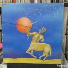 Discos de vinilo: JUSTO BETANCOURT - DISTINTO Y DIFERENTE (LP, ALBUM, GAT) 1977 USA . Lote 140443514