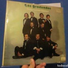 Discos de vinilo: LOS GRADUADOS,( CANTA GUSTAVO QUNTERO), LP LOTE 567. Lote 140447982