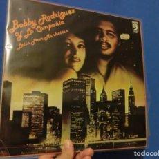 Discos de vinilo: BO8BBY RODRIGUEZ Y LA COMPAÑIA LP ,LOTE 567. Lote 140448138