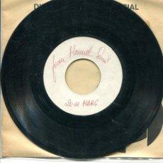 Discos de vinilo: JOAN MANUEL SERRAT / 20 DE MARÇ / CONILLET DE VELLERT (TESS PRESSING). Lote 140455754