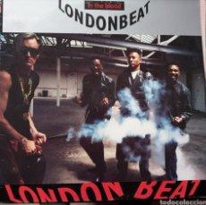 Discos de vinilo: LONDON BEAT IN THE BLOOD LP. Lote 140463101