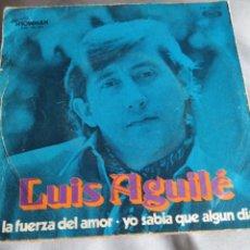 Discos de vinilo: LUÍS AGUILE. Lote 140466201