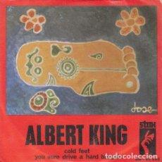 Discos de vinilo: ALBERT KING - COLD FEET - SINGLE DE VINILO EDICION ESPAÑOLA - STAX. Lote 140467726