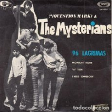 Discos de vinilo: ? QUESTION MARK AND THE MYSTERIANS - 96 LAGRIMAS - EP DE VINILO EDICION ESPAÑOLA. Lote 140468510