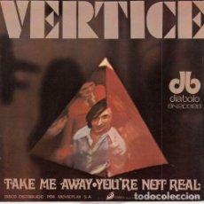 Discos de vinilo: VERTICE - TAKE ME - SINGLE DE VINILO - DIABOLO 1970. Lote 140469342