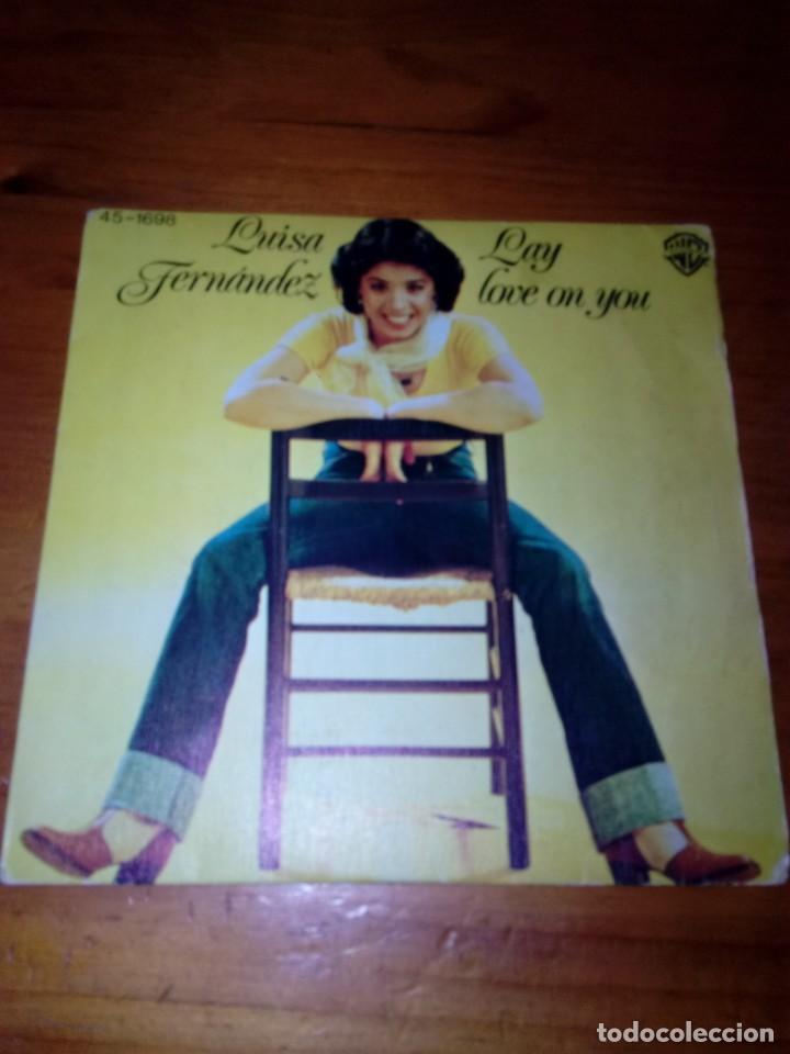 LUISA FERNANDEZ. LAY LOVE ON YOU. MRV (Música - Discos - Singles Vinilo - Otros estilos)
