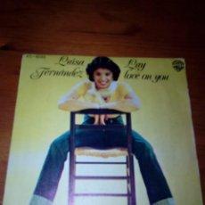 Discos de vinilo: LUISA FERNANDEZ. LAY LOVE ON YOU. MRV. Lote 140470346