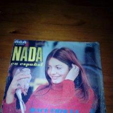 Discos de vinilo: NADA EN ESPAÑOL. HECE FRIO YA. LA GOLONDRINA. MRV. Lote 140472022