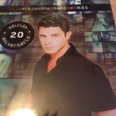 Discos de vinilo: ALEJANDRO SANZ- MAS EDICIÓN 20 ANIVERSARIO. Lote 140473813