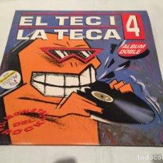 Discos de vinilo: EL TEC I LA TECA 4 (1992) 2 X LP DISCO VINILO. Lote 140474778
