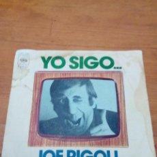 Discos de vinilo: JOE RIGOLI. FELIPITO TAKATUN. YO SIGO. MONOLOGO. MRV. Lote 140474950