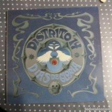 Discos de vinilo: DISTRITO 14 - DÍAS DE GLORIA. Lote 140475602