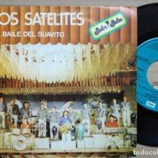 Discos de vinilo: LOS SATELITES-EL BAILE DEL SUAVITO-LA SALVAORA. Lote 140477430