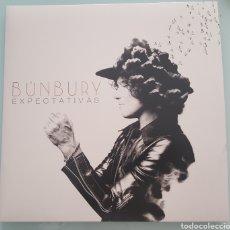 Discos de vinilo: BUNBURY -EXPECTATIVAS - VINILO - NUEVO. Lote 140477674