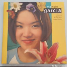Discos de vinilo: MANOLO GARCIA - NUNCA EL TIEMPO ES PERDIDO - 2 LPS - VINILO. Lote 140478214