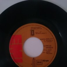 Discos de vinilo: LA BELLE EPOQUE -- BAMALAMA - TASTE OF DESTRUCTION -AÑO 1978 -REFM1E4BOES132DISIN. Lote 140481814